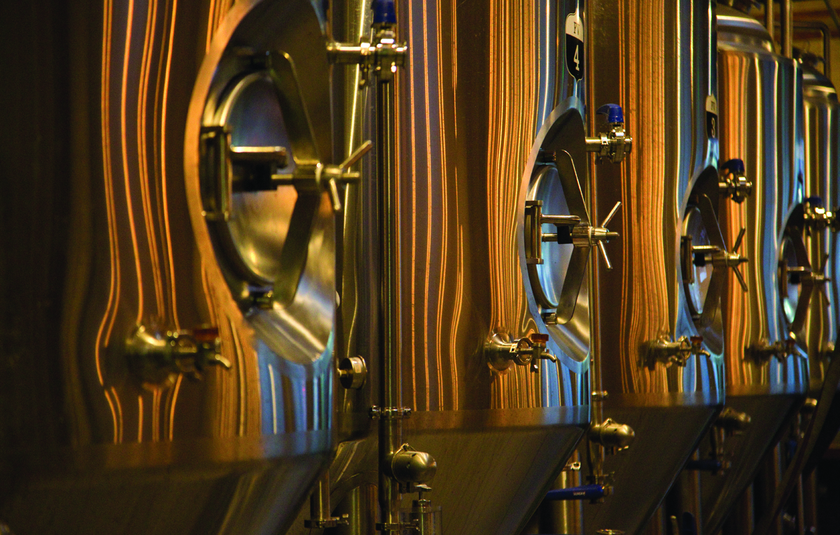 Beer Fermenters and Uni Tanks from Premier Stainless Systems